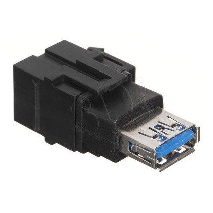Bachmann 917.120 Keystone USB-USB 3.0 A/A, G/G czarny
