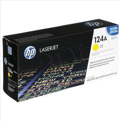 HP Toner Żółty HP124A=Q6002A, 2000 str.