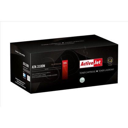 ActiveJet ATK-3100N toner Black do drukarki Kyocera (zamiennik Kyocera TK-3100) Supreme