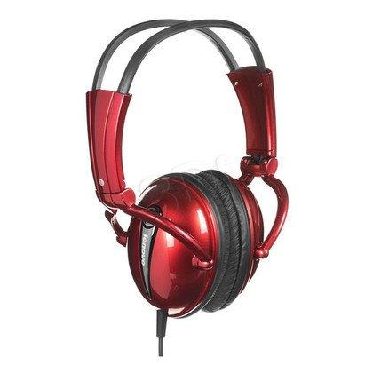 Słuchawki wokółuszne z mikrofonem LENOVO P723N (Czerwony)