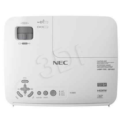 PROJEKTOR NEC V311X DLP XGA 3100 ANSI 3000:1 HDMI LAN
