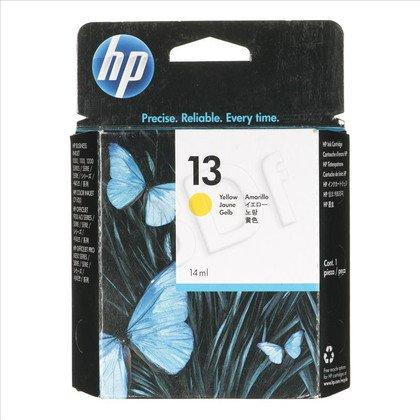 HP Tusz Żółty HP13Y=C4817A, 1050 str., 14 ml