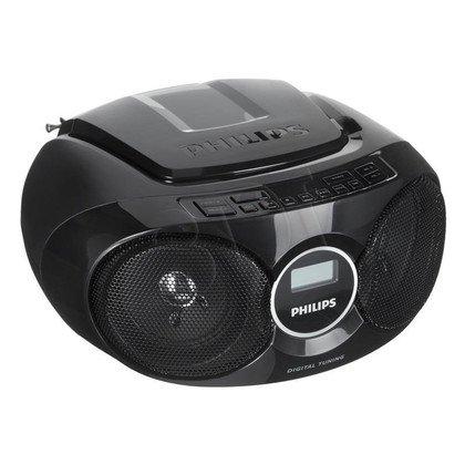 Boombox Philips AZ215B/12 czarny