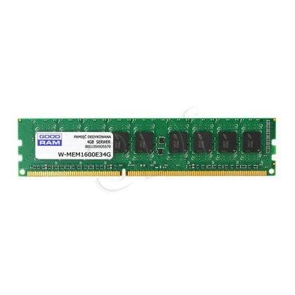 GOODRAM 4GB DDR3 ECC 1600MHz W-MEM1600E34GG