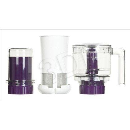 Blender stojący Philips HR2166/00 (600W/biały-fioletowy)