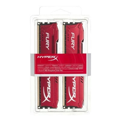 KINGSTON HyperX FURY DDR3 2x4GB 1600MHz HX316C10FRK2/8