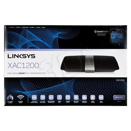 LINKSYS XAC1200 Router WIFI AC1200 USB 3.0 Gig. LAN