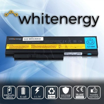 WHITENERGY BATERIA DO LAPTOPA LENOVO THINKPAD X230 0A36281 4400mAh 49WH 11.1V