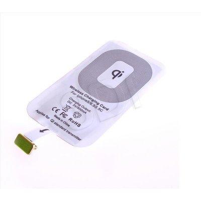 PowerNeed Adapter QI do bezprzewodowego ładowania ze złączem Apple Lighting 8-pin - BIAŁY