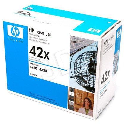 HP Toner Czarny HP42X=Q5942X, 20000 str.