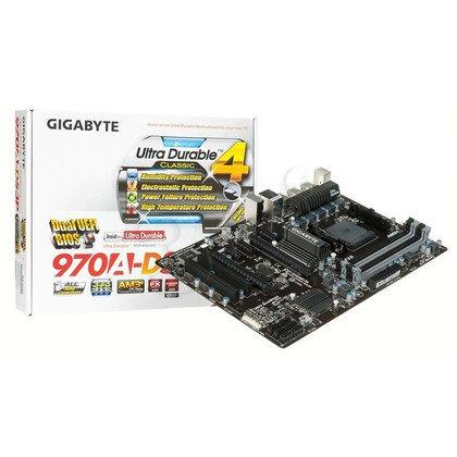 GIGABYTE GA-970A-DS3P AMD 970 Socket AM3+ (2xPCX/DZW/GLAN/SATA3/USB3/RAID/DDR3/CROSFIRE)