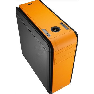 OBUDOWA AEROCOOL DS 200 ORANGE USB3.0 - CZARNO-POMA
