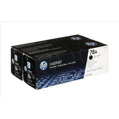 HP Toner HP78Ax2=CE278AD, Zestaw 2xBk, 2xCE278A