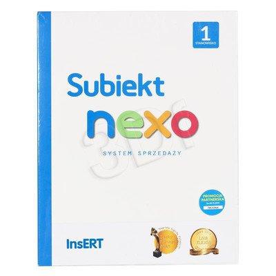 INSERT Subiekt nexo 1 STANOWISKO (BOX)