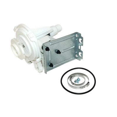 Silnik pompy myjącej zmywarki z turbinką 80W Whirlpool (480140102395)