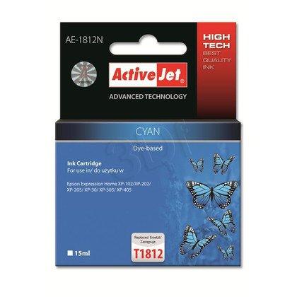 ActiveJet AE-1812N tusz cyan do drukarki Epson (zamiennik Epson T1812) Supreme