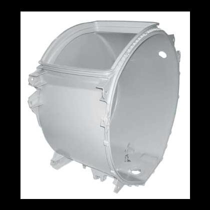 Zbiornik (tylna połowa) pralki z łożyskami (482000003593)