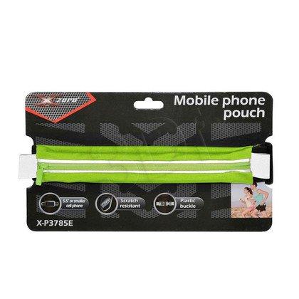 """X-ZERO PAS SPORTOWY NA TELEFON MAX. 5,5"""" X-P3785E ZIELONY"""