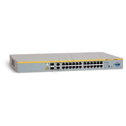 Allied Telesis L2 switch (AT-8000S/24) 24x10/100Mbps, 2x10/100/1000Mbps, 2xSFP