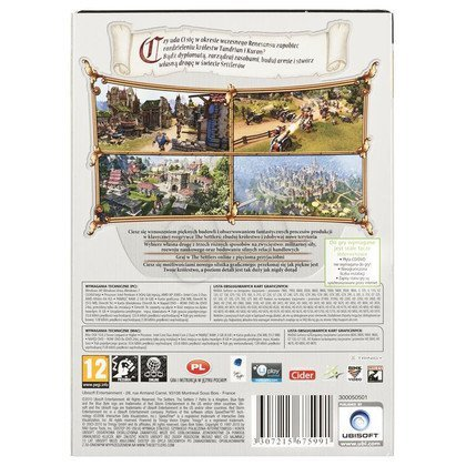 Gra PC EXCLU Settlers 7 Gold