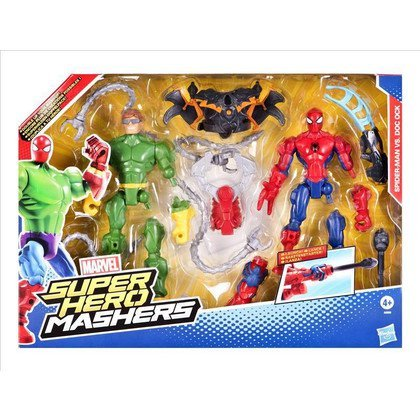 SUPER HERO MASHERS DWUPAK Z BRONIĄ HASBRO SPIDERMAN