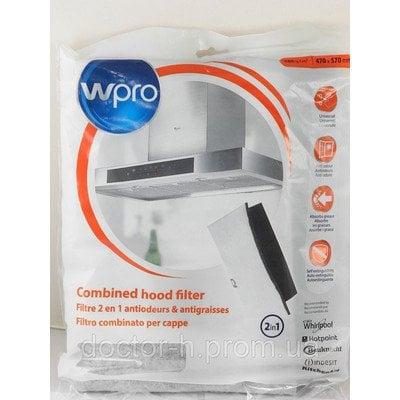 Filtr okapu flizelinowy z węglem Whirlpool (484000008524)