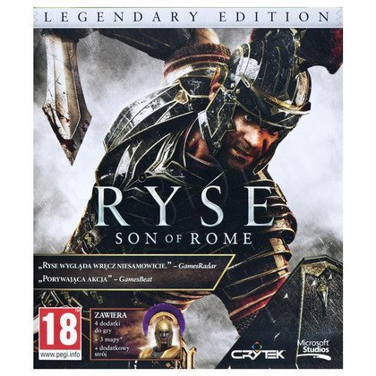 Gra Xbox ONE Ryse Legendary