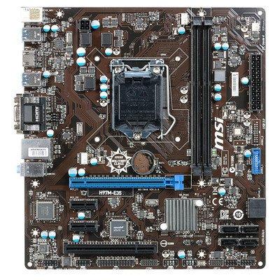 MSI H97M-E35 H97 LGA1150 (PCX/DZW/VGA/GLAN/SATA3/USB3/RAID/DDR3) mATX