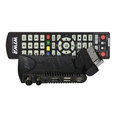 TUNER DVB-T WIWA HD 50 MC MPEG4 & HD MEDIA PLAYER