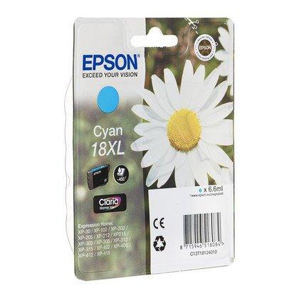 EPSON Tusz Niebieski T1812=C13T18124010, 450 str., 6.6 ml