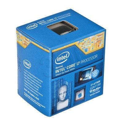 PROCESOR CORE i7 4790K 4.0GHz LGA1150 BOX