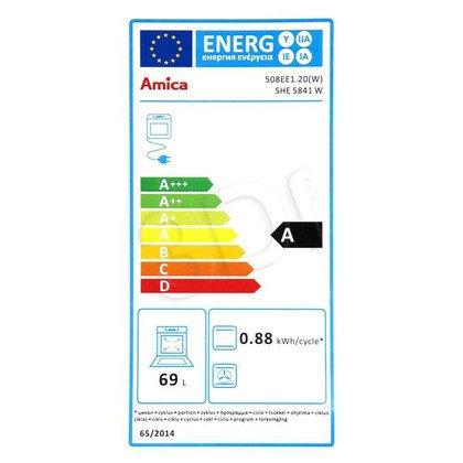 Kuchnia Amica 58EE1.20(W) (Płyta Elektryczna Piekarnik Elektryczny szer. 500mm Biały)
