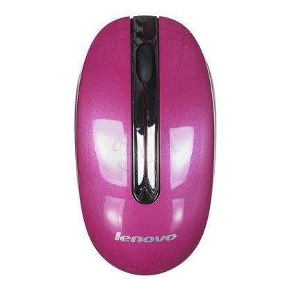 LENOVO Mysz bezprzewodowa optyczna N3903A 1200dpi różowa