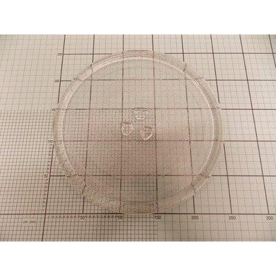 Talerz szklany fi-245 (koniczynka wypukła) (1017242)