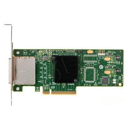 Kontroler HBA SAS/SATA LSI 9200-8e, 6Gb, 8port, SGL