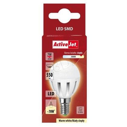 LED SMD AJE-DS4014G Mglob 560lm 7W E14 b.ciepła