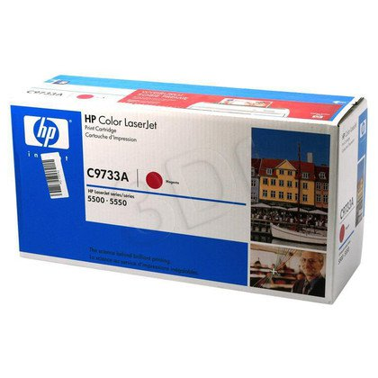 HP Toner Czerwony HP645A=C9733A, 12000 str.