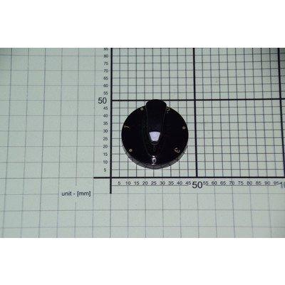 Pokrętło PMG611.00/09.273.01 czarne płytki grzejnej (9045059)