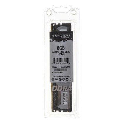 Crucial Ballistix DDR4 UDIMM 8GB 2400MT/s (1x8GB) BLS8G4D240FSA