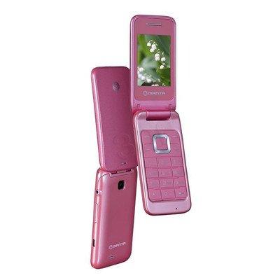 "Telefon Manta TEL2405 2,4"" różowy"