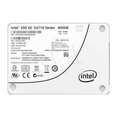 """DYSK SSD INTEL DC S3710 400GB 2,5"""" SATA3 SGL PACK"""