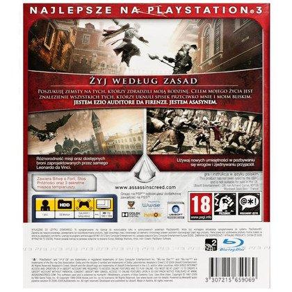 Gra PS3 Assassins Creed II GOTY Essentials