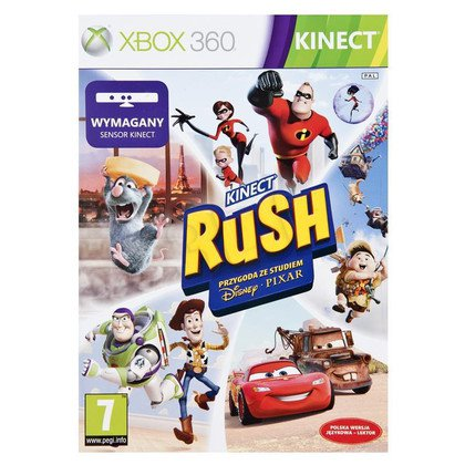 Gra Xbox 360 Pixar Rush PL