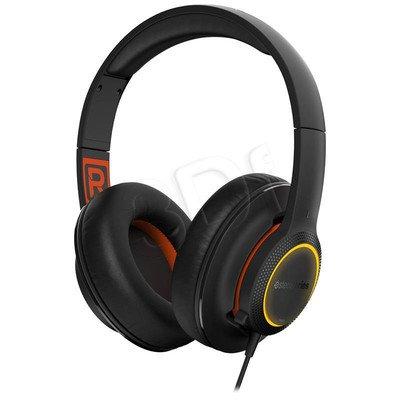 Słuchawki nauszne z mikrofonem Steelseries Siberia 150 (czarny)