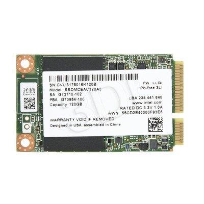 Dysk SSD Intel 525 120GB mSATA SSDMCEAC120A301