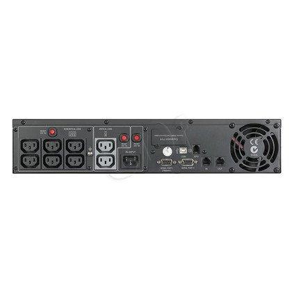 UPS CYBERPOWER PR1000ELCDRT2U (VI, Rack/Tower, 1000VA, 900W, 8xIEC (8x Backup), FL11min/HL32min)