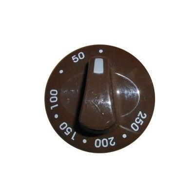 Pokrętło temperatury 50-250oC - brązowe (9046486)