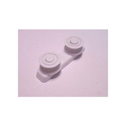 Blokada/Ogranicznik prowadnicy kosza tylny do zmywarki Whirlpool (480140101547)