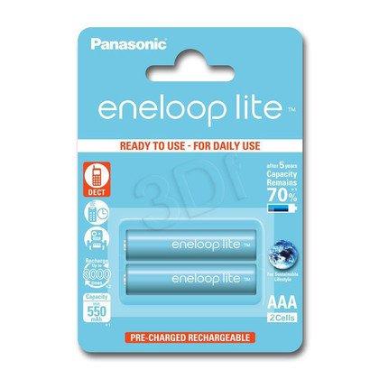 PANASONIC ENELOOP LITE R03/AAA 550mAh – 2 SZT BLIS