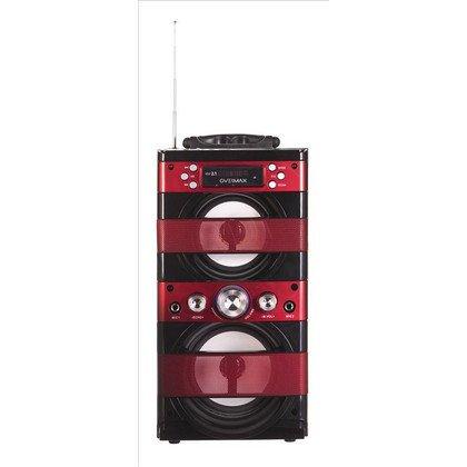 Przenośny zestaw karaoke Overmax IDOL2.1 Czarno-czerwony